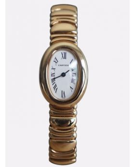 Cartier Baignoire full Rose gold lady