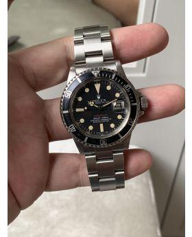 "Rolex Submariner ""1680 ""Single RED"