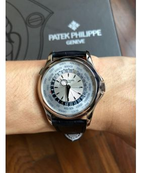 Patek Philippe Complications World Time White Gold Ref : 5130G-001