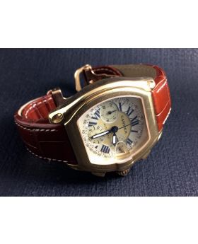 Cartier Roadster 18k Gold Chronograph