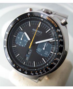 seiko มดดำ 1970 auto choronograph หน้าปัด 2 tone