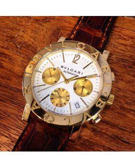 Bvlgari BB 38 auto chronograph for man, lady size 38mm